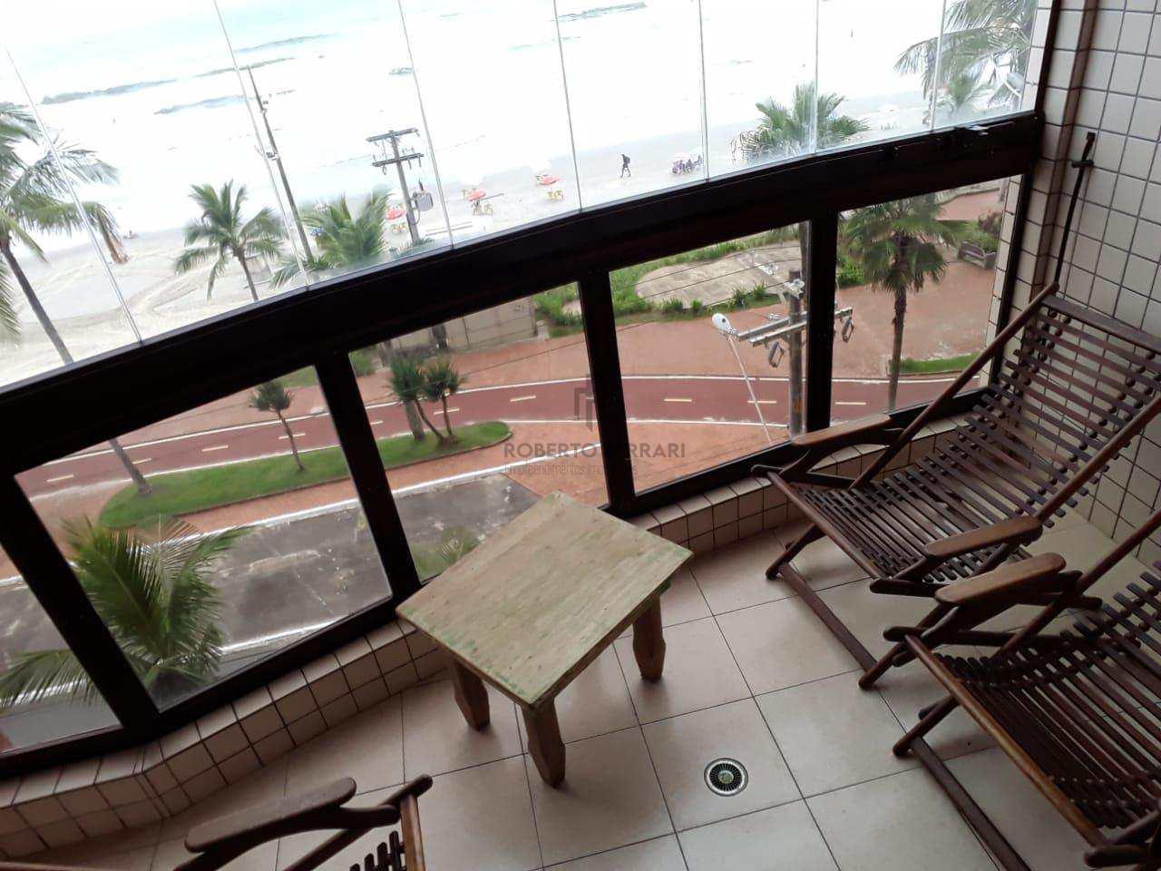 Apartamento com 3 dorms, Caiçara, Praia Grande - R$ 410 mil, Cod: 139