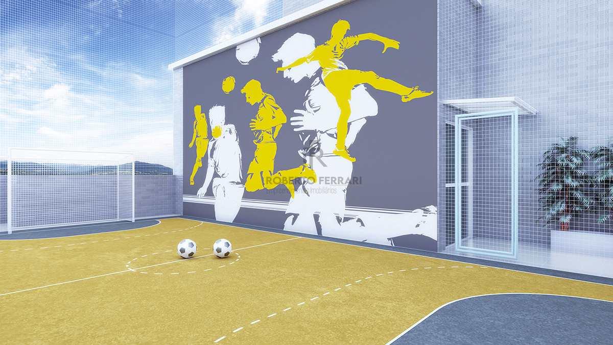 Apartamento com 2 dorms, Caiçara, Praia Grande - R$ 380 mil, Cod: 158