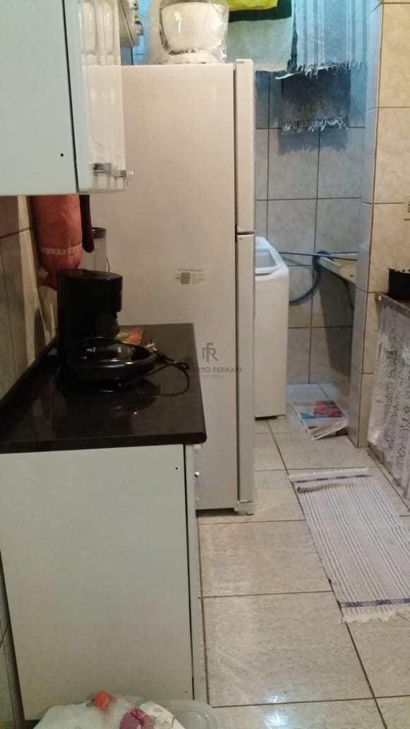 Apartamento com 1 dorm, Caiçara, Praia Grande - R$ 160 mil, Cod: 168