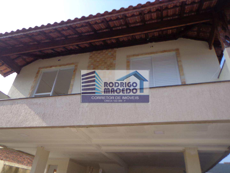 Casa de Condomínio com 2 dorms, Mirim, Praia Grande - R$ 220 mil, Cod: 1719