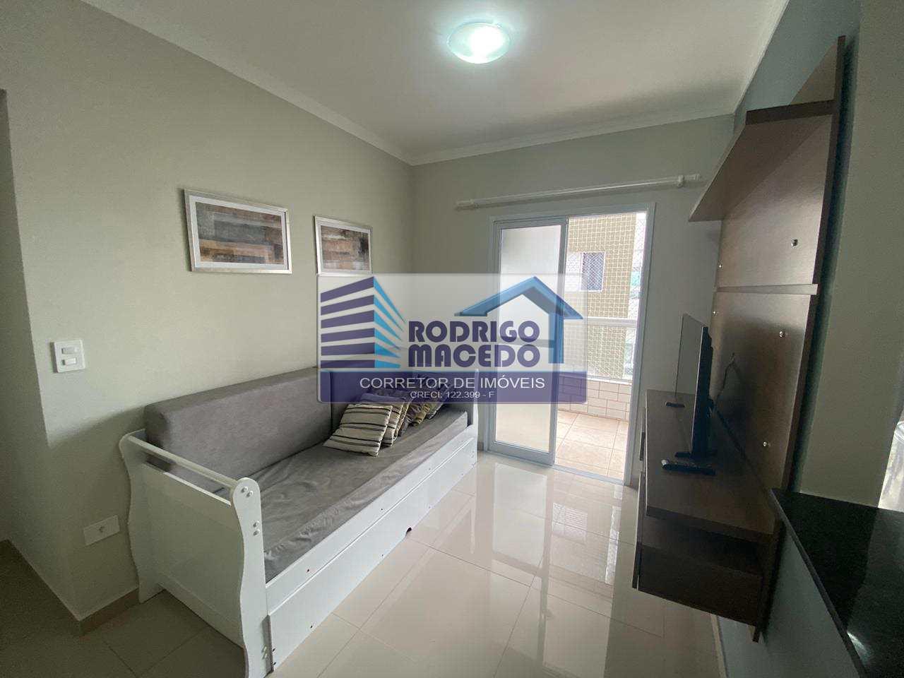 Apartamento com 1 dorm, Mirim, Praia Grande - R$ 190 mil, Cod: 1780