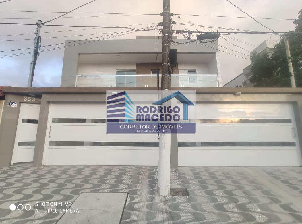 Sobrado com 2 dorms, Guilhermina, Praia Grande - R$ 248 mil, Cod: 1808