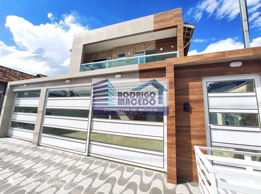 Casa com 2dorms, Maracanã, Praia Grande - R$ 240 mil, Cod: 1818