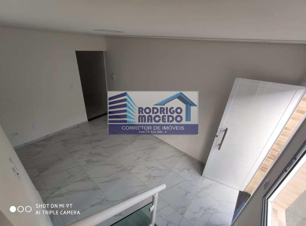 Sobrado de Condomínio com 2 dorms, Maracanã, Praia Grande - R$ 240 mil, Cod: 1820