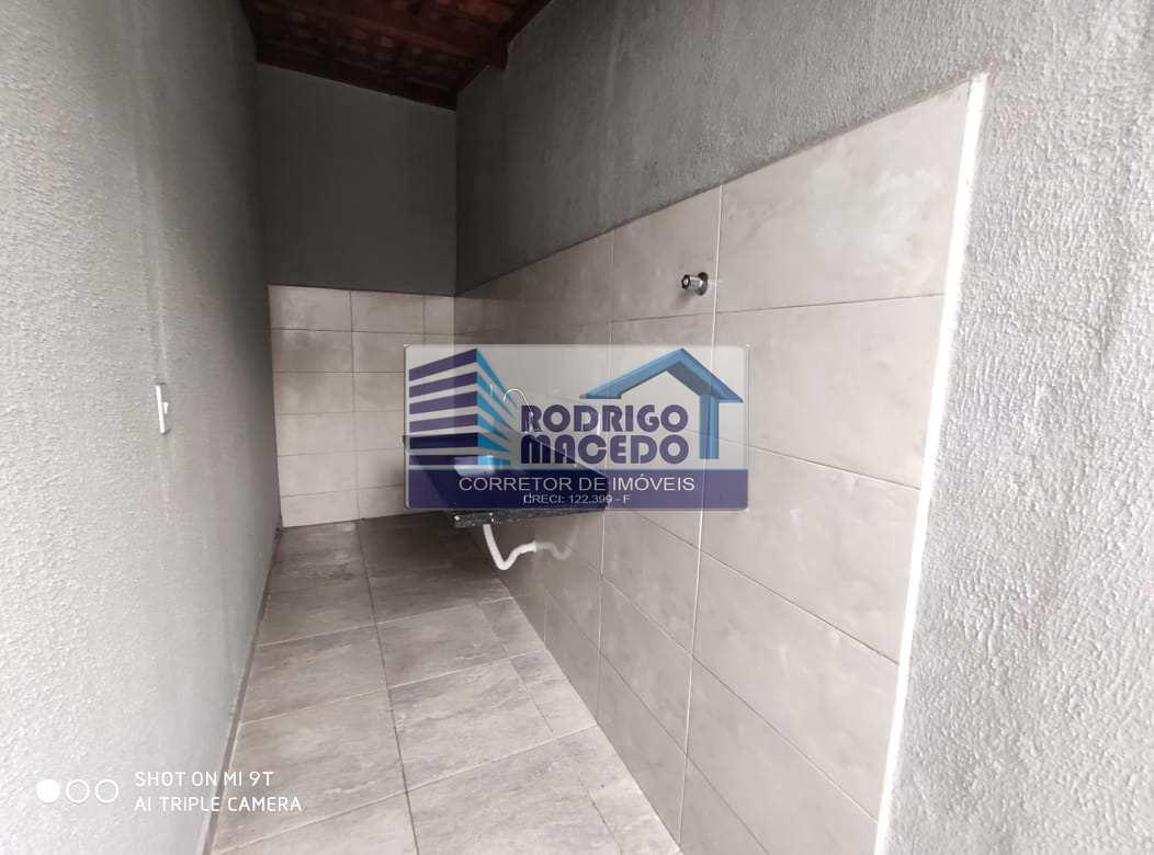 Sobrado de Condomínio com 2 dorms, Glória, Praia Grande - R$ 210 mil, Cod: 1851