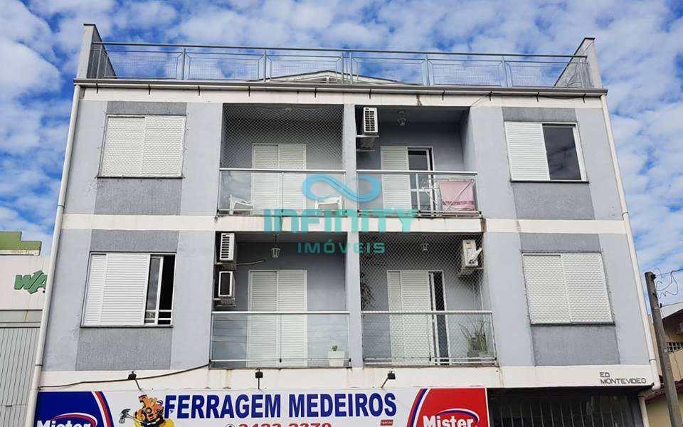 Apartamento no bairro Parque dos Anjos em Gravataí, com 2 dormitórios, sala, cozinha, banheiro, área de serviço, vaga de garagem coberta, 60m² de área privativa