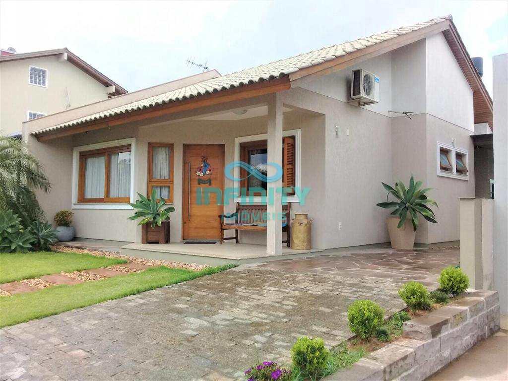 Casa de Condomínio com 2 dorms, VILLA LUCCHESI, Gravataí - R$ 490 mil, Cod: 568