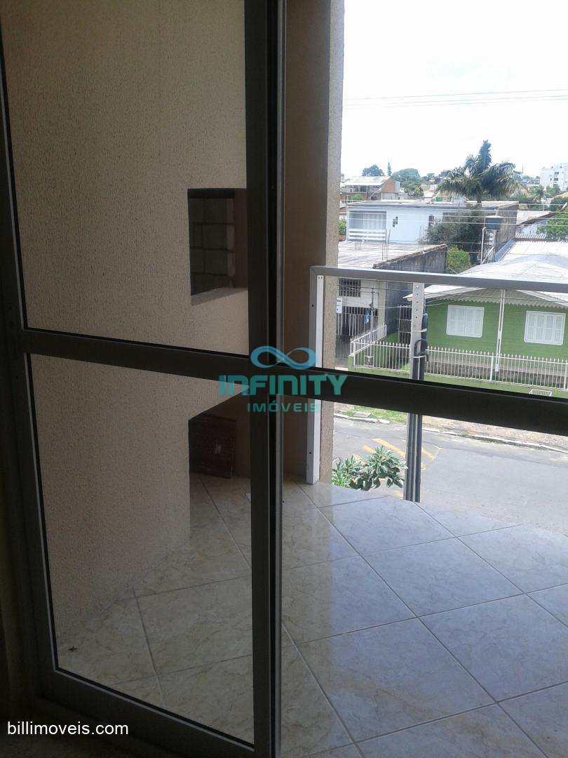 Apartamento com 2 dorms, São Vicente, Gravataí, sala, cozinha.