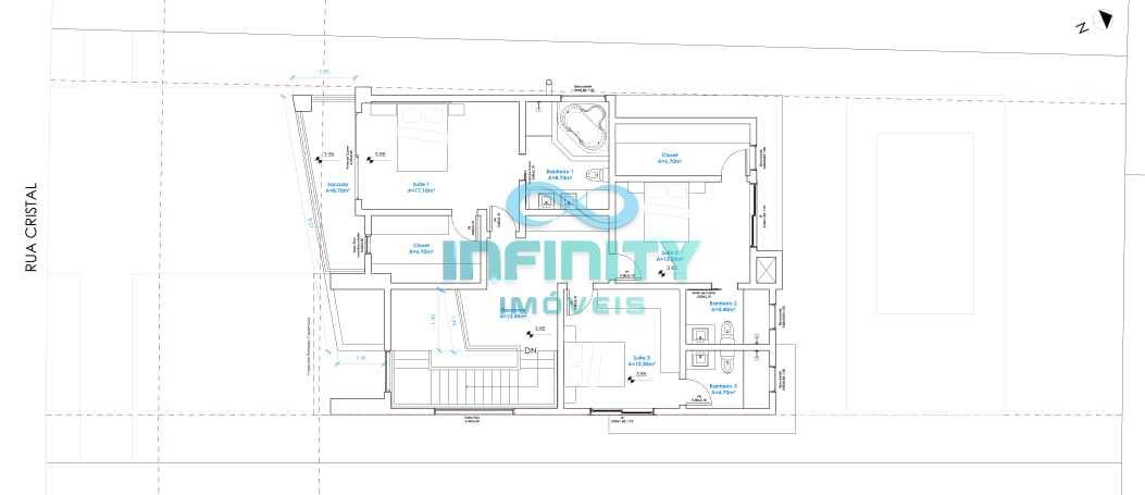 Sobrado de Condomínio com 3 dorms, Alphaville, Gravataí - R$ 1.35 mi, Cod: 908