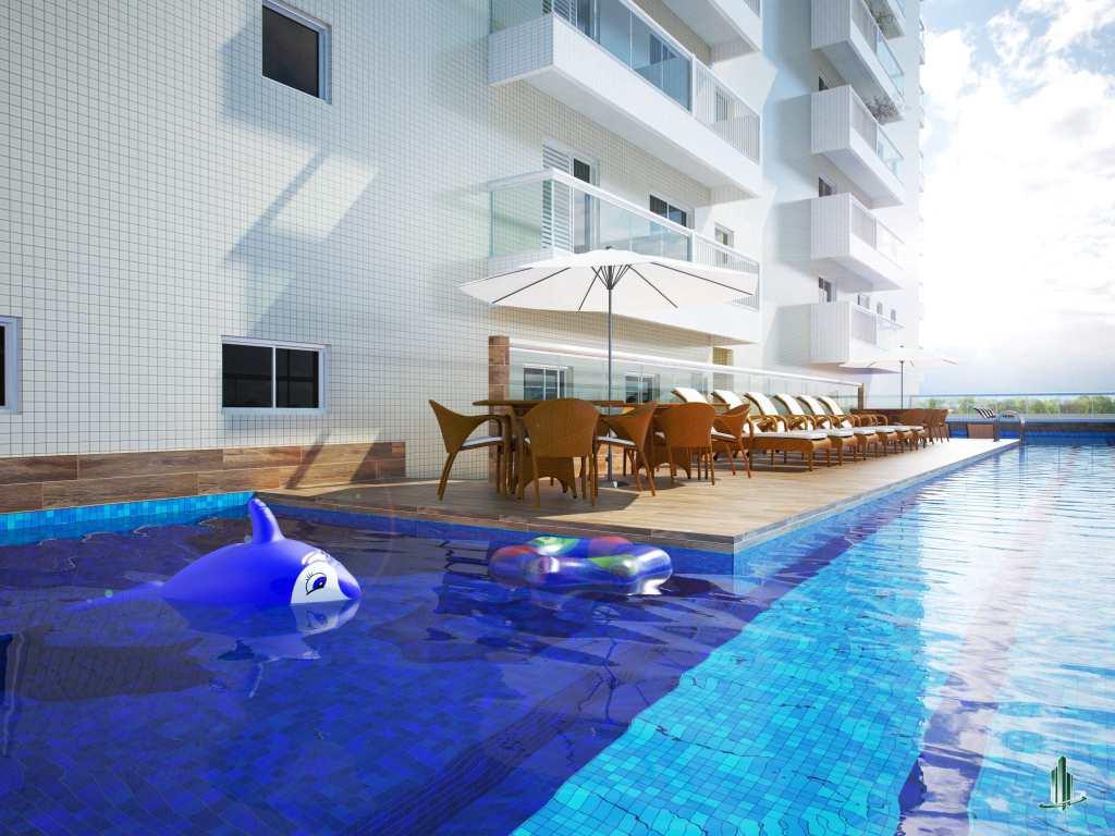 Empreendimento Novo com a maior piscina com raia residencial da cidade de Praia Grande!