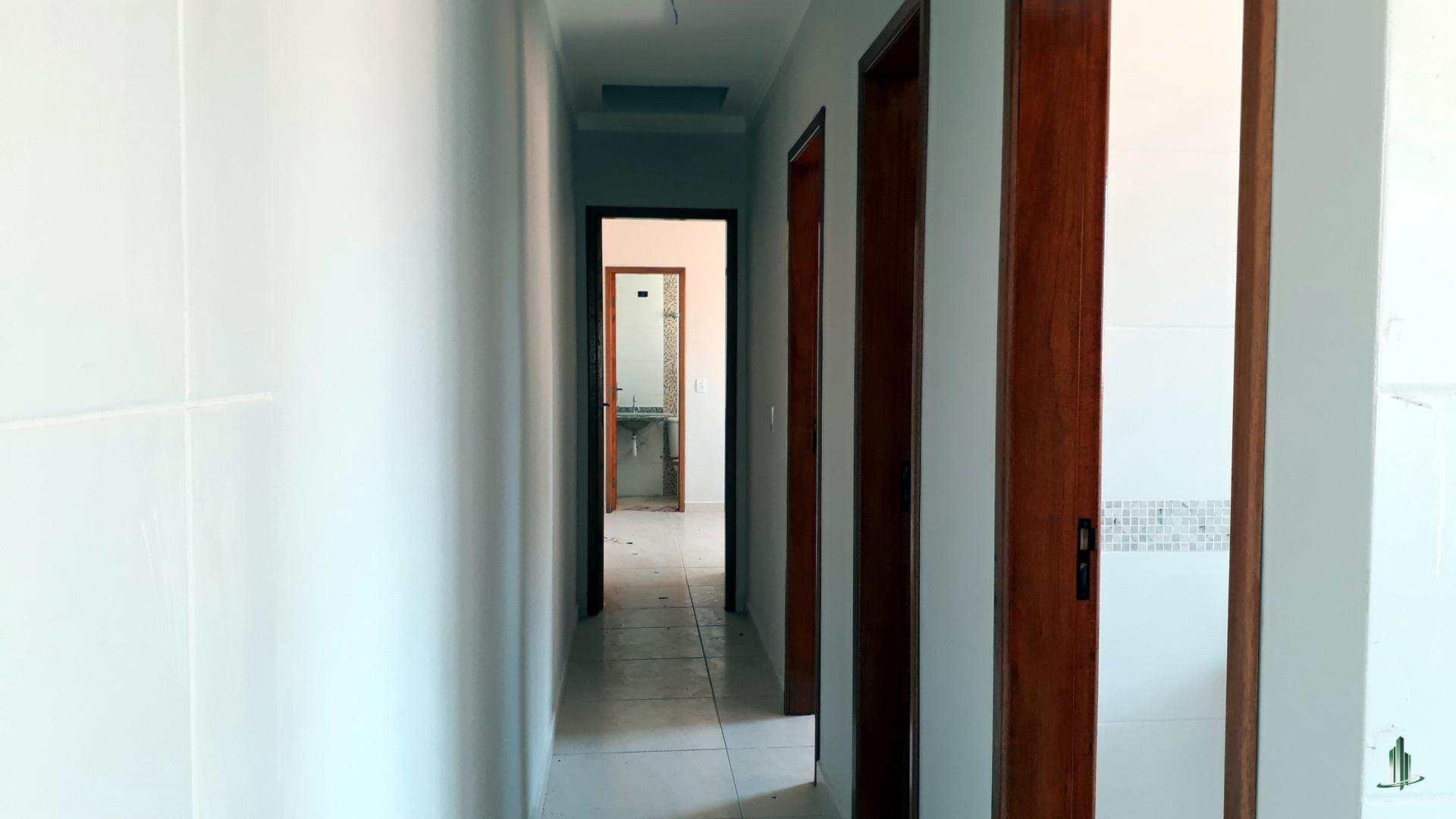 Casa de Condomínio com 2 dorms, Maracanã, Praia Grande - R$ 265 mil, Cod: CA1205