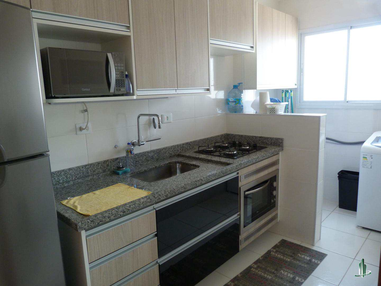 Apartamento com 1 dorm, Guilhermina, Praia Grande - R$ 190 mil, Cod: AP2531