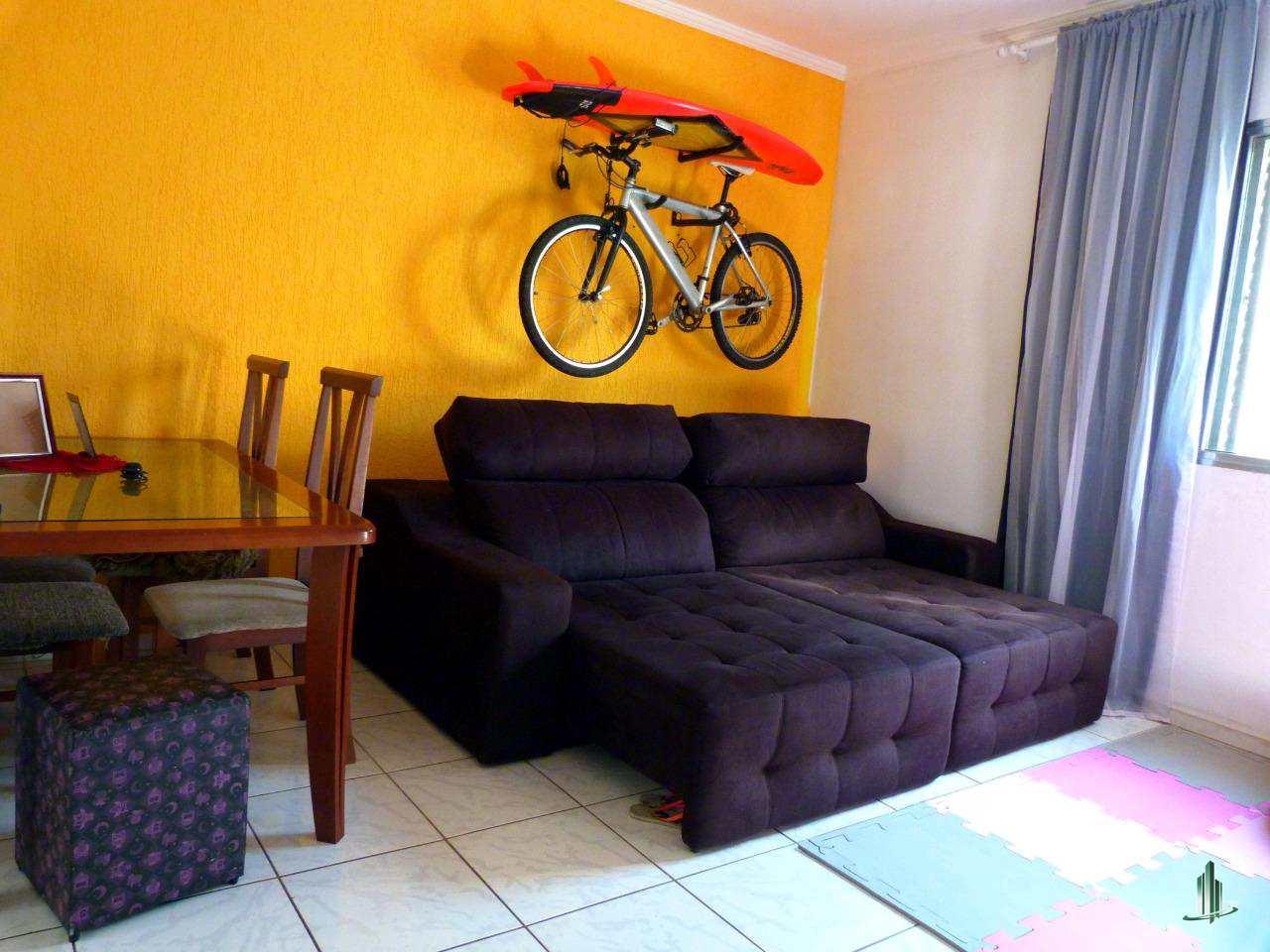Apartamento com 1 dorm, Guilhermina, Praia Grande - R$ 145 mil, Cod: AP2537