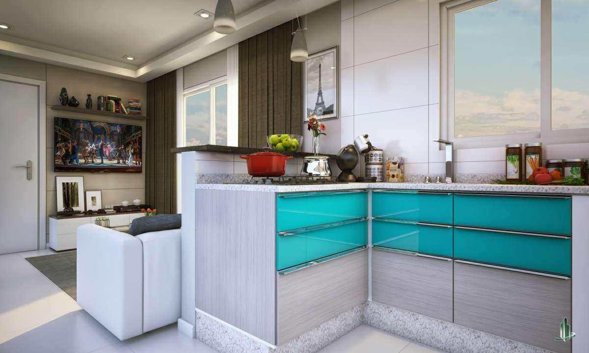 Apartamento com 1 dorm, Canto do Forte, Praia Grande - R$ 214 mil, Cod: AP2563