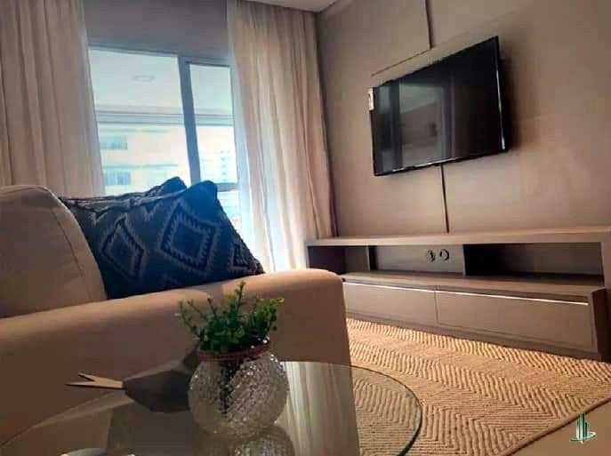 Apartamento com 1 dorm, Aviação, Praia Grande - R$ 309 mil, Cod: AP2566
