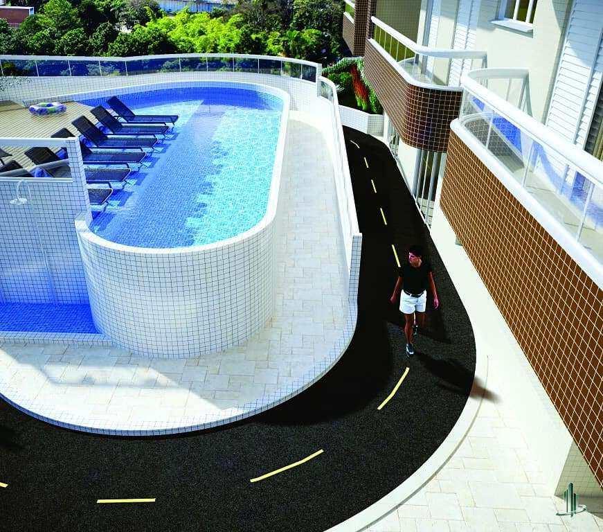 Apartamento com 2 dorms, Guilhermina, Praia Grande - R$ 399 mil, Cod: AP2608