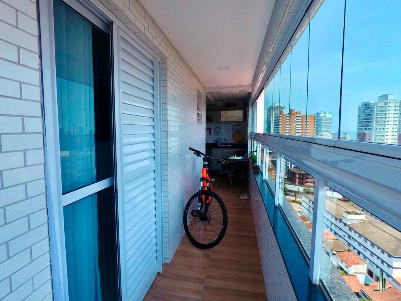 Apto Mobiliado, 2 dorms, Canto do Forte, Praia Grande, SP