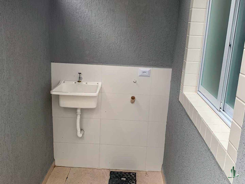 Sobrado de Condomínio com 2 dorms, Caiçara, Praia Grande - R$ 205 mil, Cod: SO1236