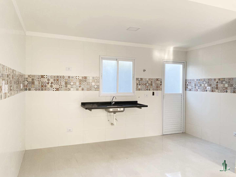 Sobrado de Condomínio com 2 dorms, Caiçara, Praia Grande - R$ 200 mil, Cod: SO1238