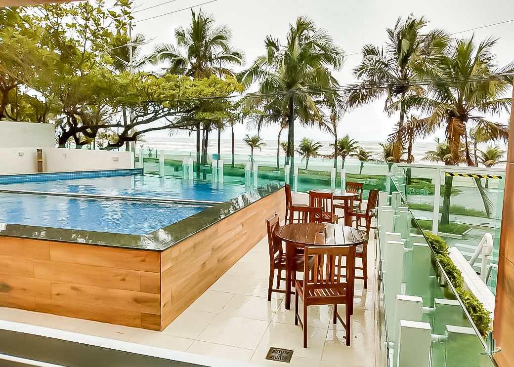 Apartamento Frente Mar, 2 dorms, Bal Flórida, Praia Grande, SP
