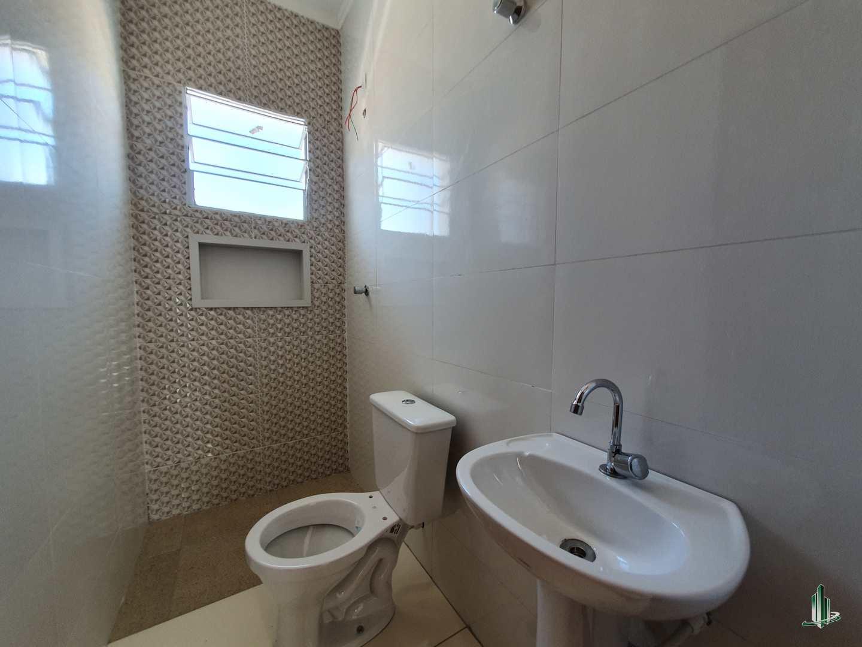 Sobrado de Condomínio com 2 dorms, Melvi, Praia Grande - R$ 175 mil, Cod: SO1253