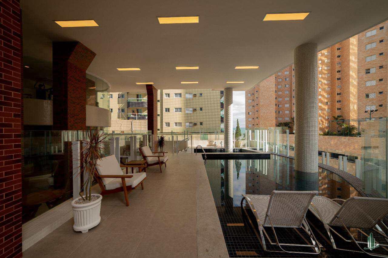 Cobertura com 3 dorms, Guilhermina, Praia Grande - R$ 876 mil, Cod: CO1024