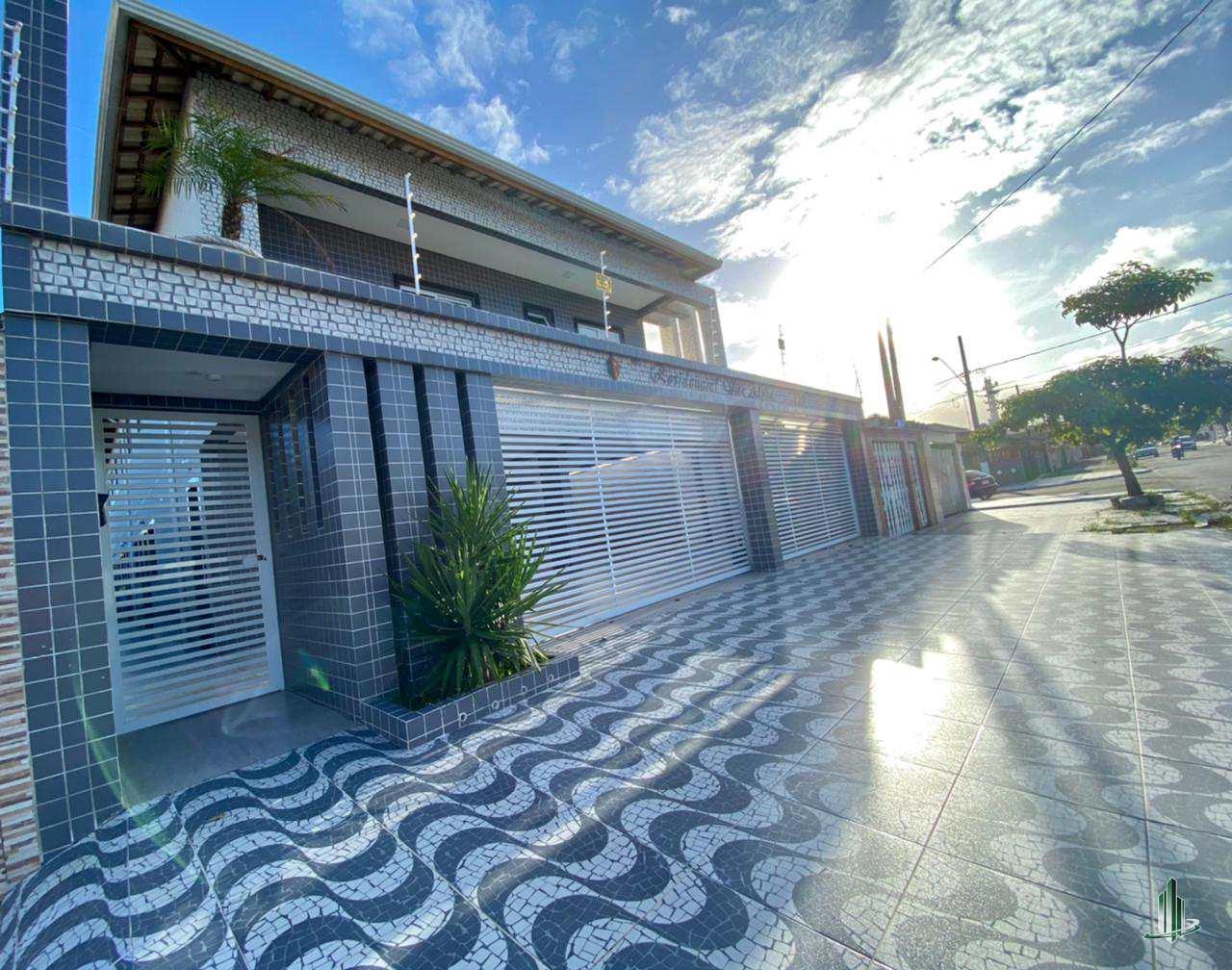 Sobrado de Condomínio com 2 dorms, Caiçara, Praia Grande - R$ 235 mil, Cod: SO1271