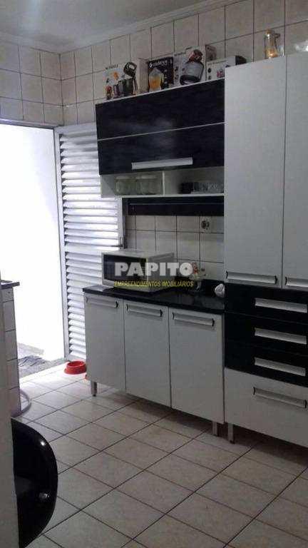 Sobrado residencial à venda, Nova Mirim, Praia Grande.