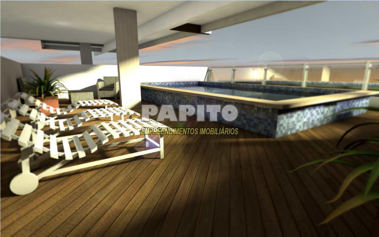 Apartamento com 2 dorms, Caiçara, Praia Grande - R$ 250 mil, Cod: 60011238