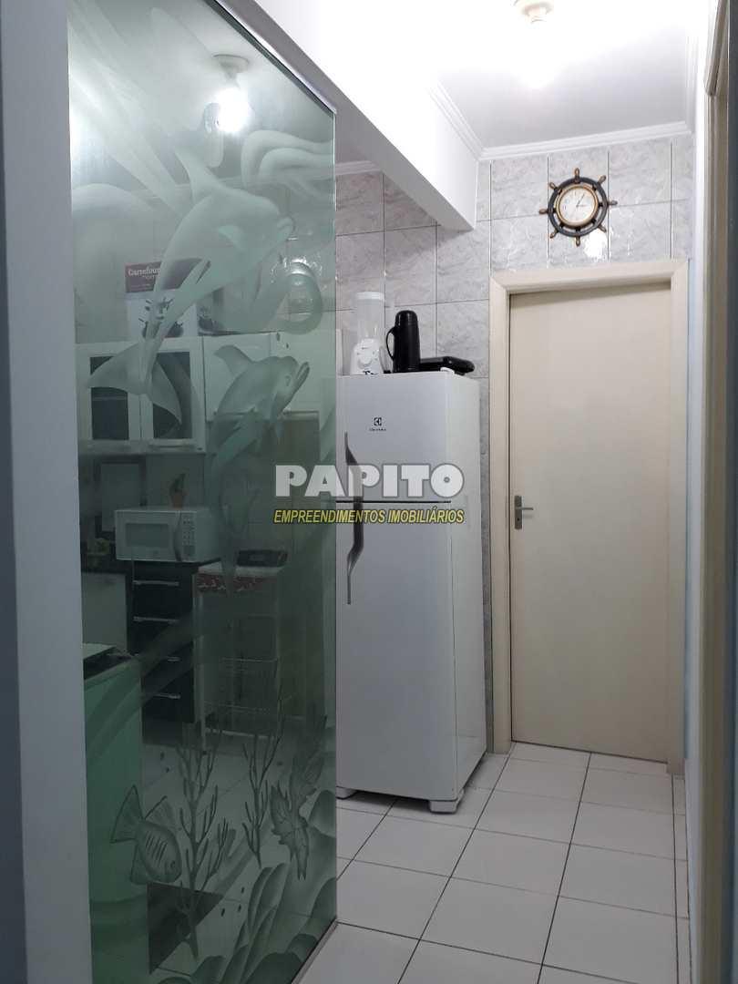 Apartamento com 1 dorm, Caiçara, Praia Grande - R$ 135 mil, Cod: 60011284
