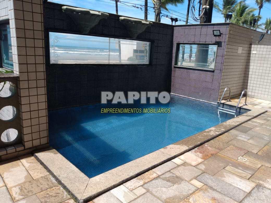 Apartamento com 3 dorms, Caiçara, Praia Grande - R$ 320 mil, Cod: 60011287