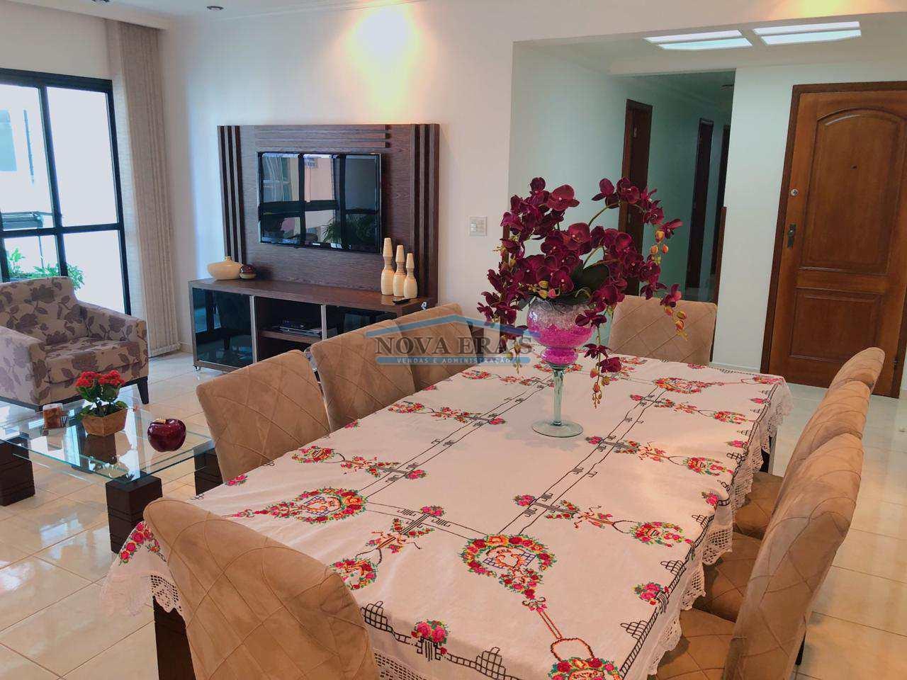 Apartamento com 3 dorms, Itararé, São Vicente - R$ 750 mil, Mar