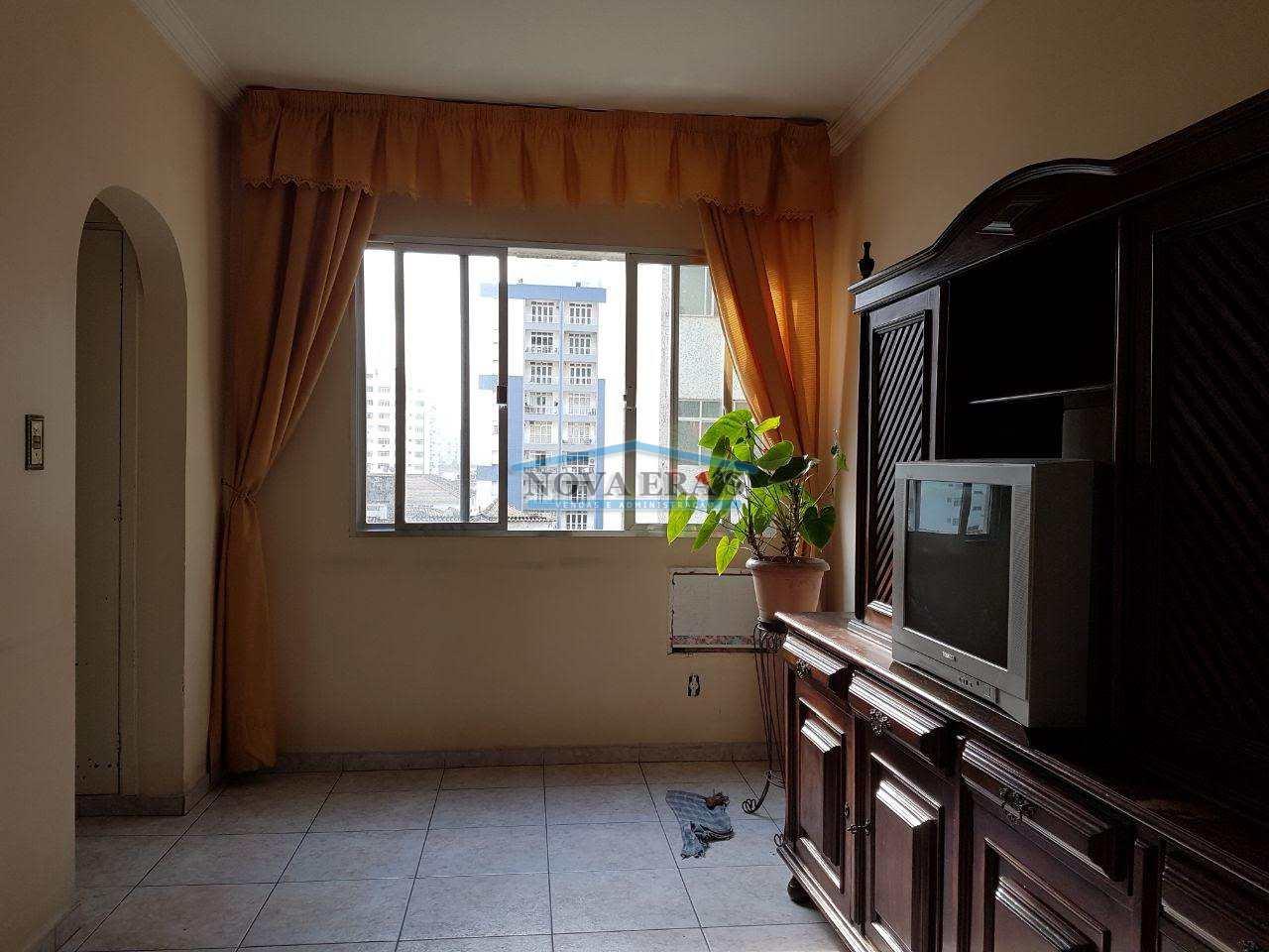 Apartamento com 3 dorms, Itararé, São Vicente - R$ 260 mil, Cod: 44