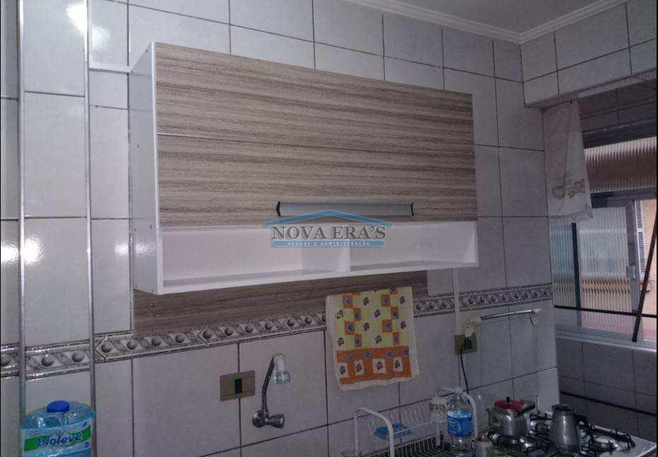 Apartamento com 1 dorm, Centro, São Vicente - R$ 190 mil, Cod: 51