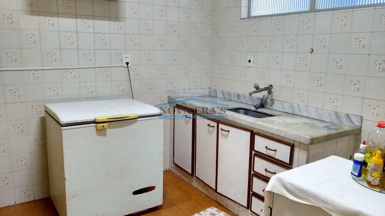 Apartamento com 1 dorm, Centro, São Vicente - R$ 195 mil, Cod: 59