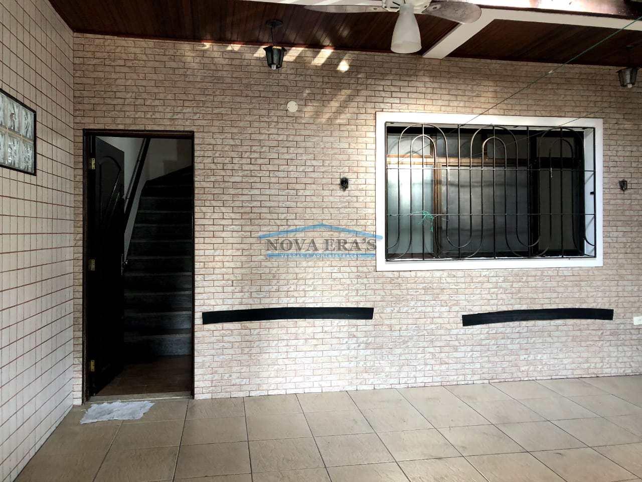 Sobrado com 4 dorms, Esplanada dos Barreiros, São Vicente - R$ 650 mil, Cod: 77