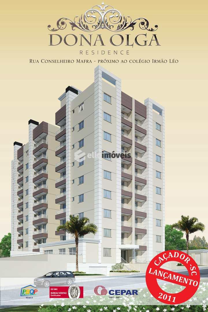 Apartamento em Caçador, bairro Centro