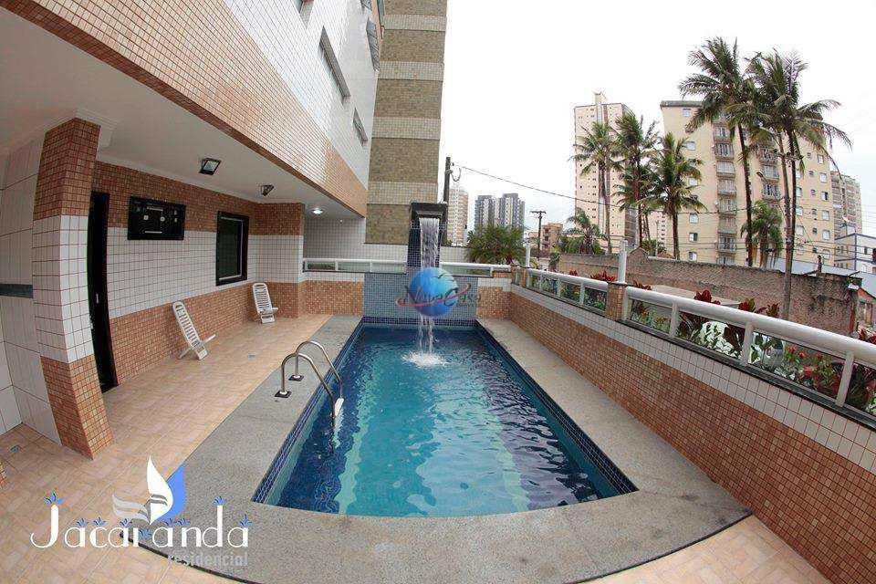 Apartamento com 2 dorms, Caiçara, Praia Grande - R$ 400 mil, Cod: 4611