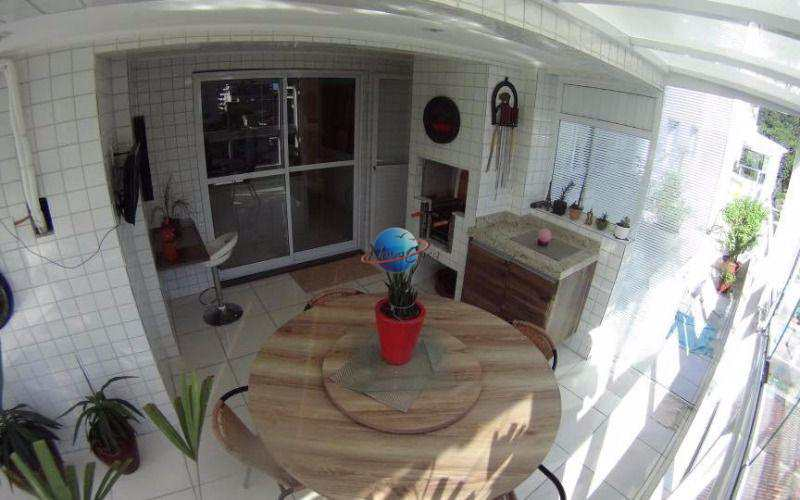 Apartamento com 2 dorms, Canto do Forte, Praia Grande - R$ 495 mil, Cod: 3709