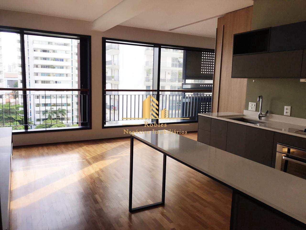 Apartamento com 1 dorm, Moema, São Paulo - R$ 750 mil, Cod: 215