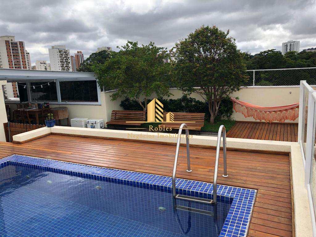 Cobertura com 4 dorms, Chácara Santo Antônio (Zona Sul), São Paulo - R$ 4.62 mi, Cod: 611