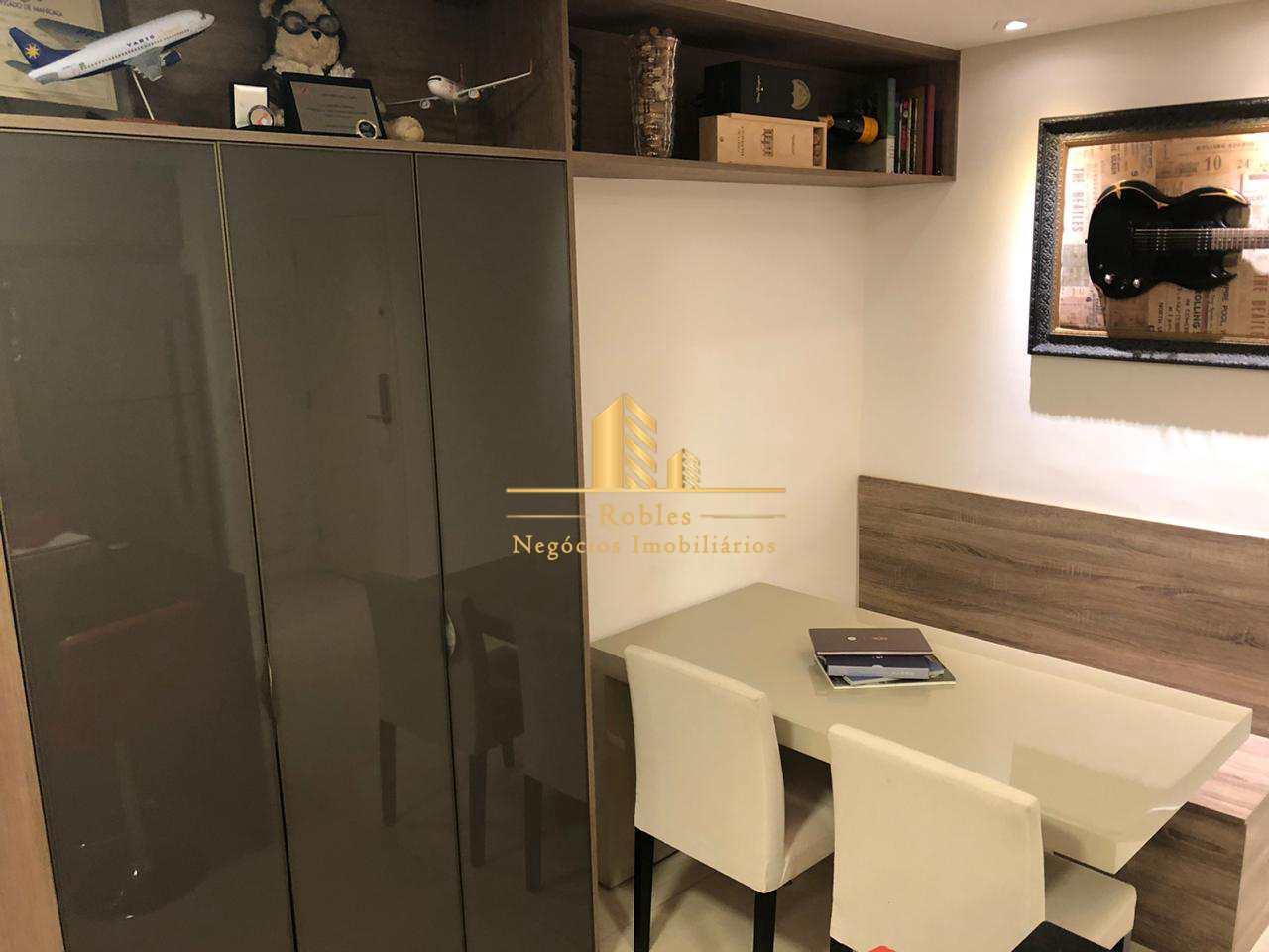 Apartamento com 1 dorm, Campo Belo, São Paulo - R$ 750 mil, Cod: 925