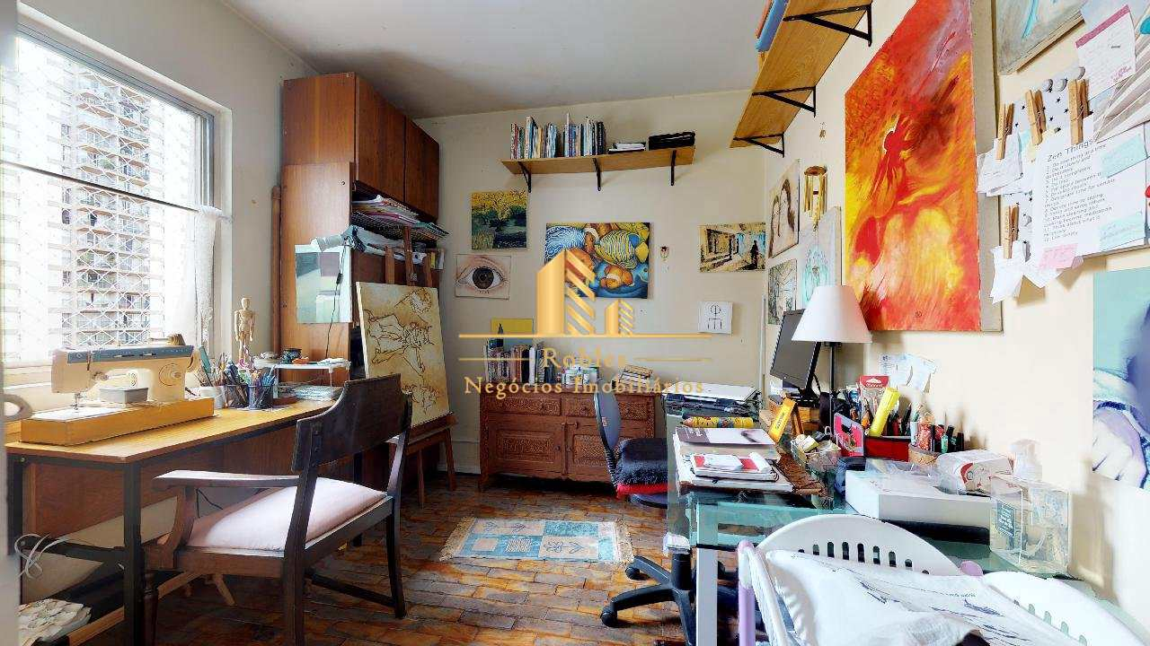 Apartamento com 3 dorms, Moema, São Paulo - R$ 798 mil, Cod: 1017