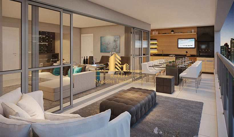 Apartamento com 3 dorms, Brooklin, São Paulo - R$ 2.57 mi, Cod: 1095