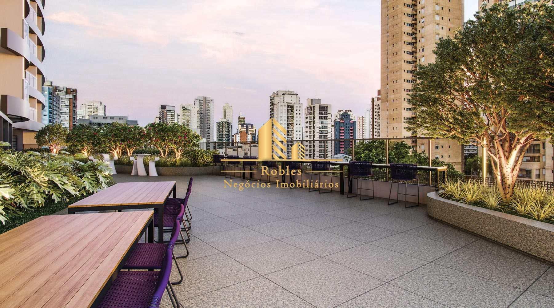 Apartamento com 1 dorm, Brooklin, São Paulo - R$ 769 mil, Cod: 1164