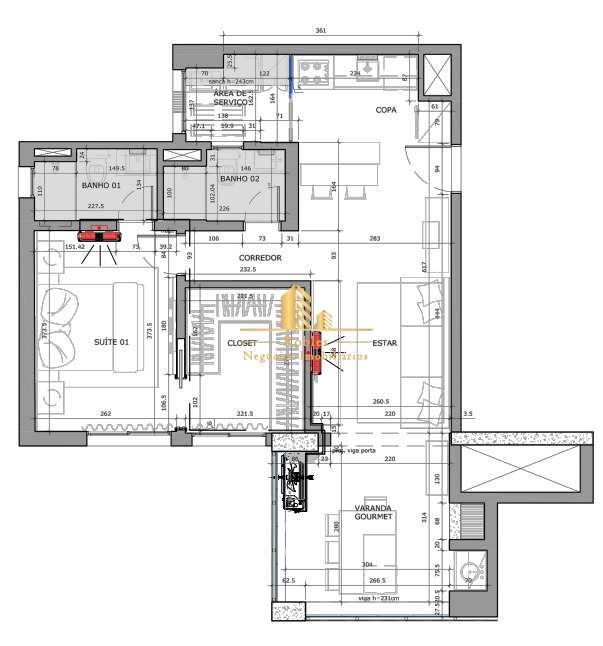 Apartamento com 1 dorm, Brooklin Novo, São Paulo - R$ 880 mil, Cod: 1475