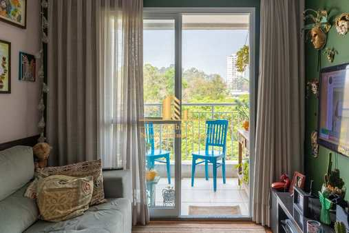 Apartamento com 2 dorms, Chácara Santo Antônio (Zona Sul), São Paulo - R$ 770 mil, Cod: 1566