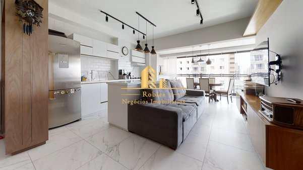 Apartamento com 1 dorm, Chácara Santo Antônio (Zona Sul), São Paulo - R$ 954 mil, Cod: 1570