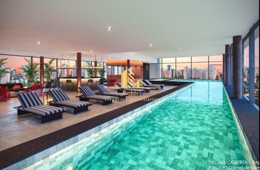 Apartamento com 1 dorm, Indianópolis, São Paulo - R$ 838 mil, Cod: 1632