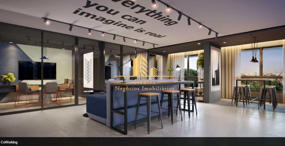 Studio com 1 dorm, Brooklin Paulista, São Paulo - R$ 326 mil, Cod: 1637